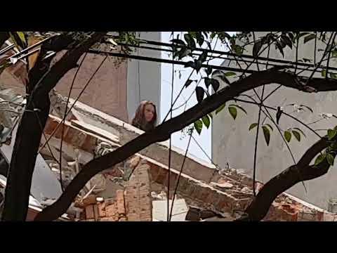 Edificio colapsado condesa 19-9-17 (видео)