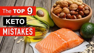 Video THE TOP 9 KETO MISTAKES That Sabotage Your Results!!! MP3, 3GP, MP4, WEBM, AVI, FLV Juli 2019