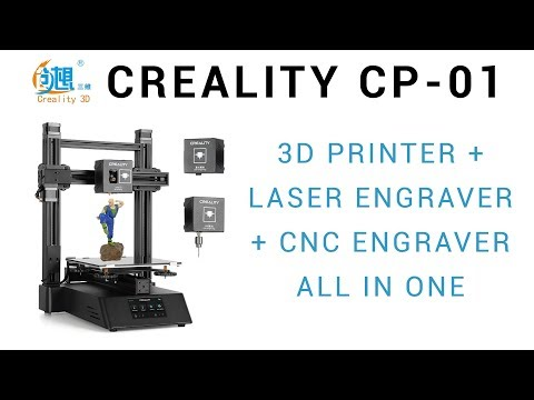 Beta testing the Creality CP-01: 3D printer + laser + CNC all in one