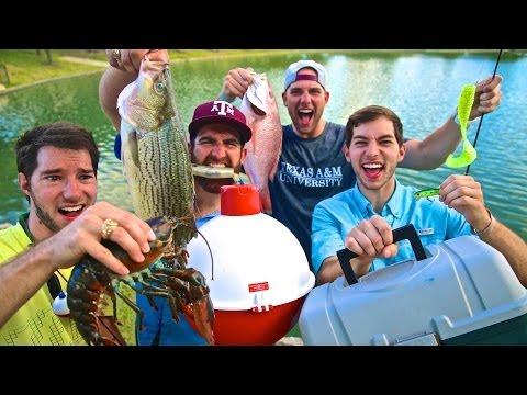 pesca -  momenti divertenti