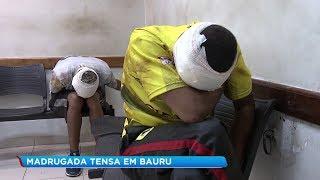 Dois criminosos foram presos depois de fazer homem refém durante roubo em Bauru