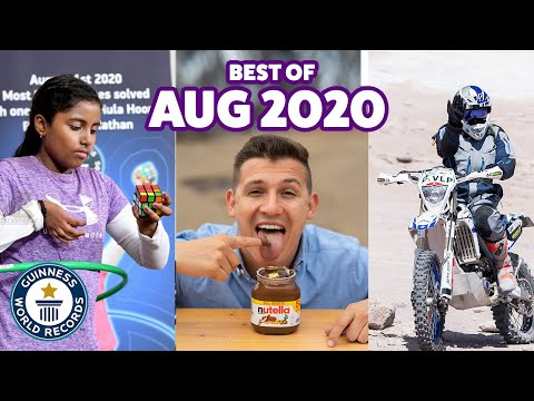 Awesome August records! - Guinness World Records
