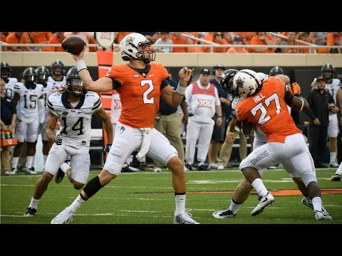 Mason Rudolph Sets Oklahoma State Record With 540 Passing Yards | CampusInsiders (видео)