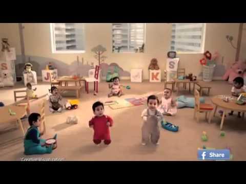 Quảng cáo cực hài hước với trẻ em