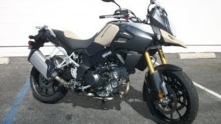 10. Walk Around 2014 Suzuki V-strom 1000 ABS