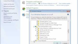 Using Remote Server Administration Tools With Windows 7