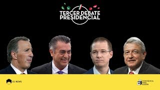 Video Tercer debate presidencial | #ConcienciaParaElegir MP3, 3GP, MP4, WEBM, AVI, FLV Agustus 2018
