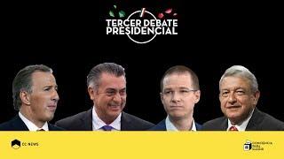 Video Tercer debate presidencial | #ConcienciaParaElegir MP3, 3GP, MP4, WEBM, AVI, FLV Juni 2018