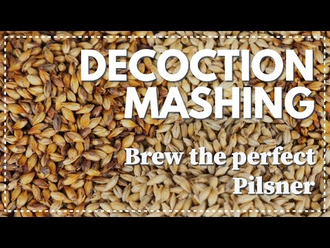 DECOCTION MASHING - Brew the perfect Pilsner - Electric brewing - Brewzilla Grainfather Robobrew Ace