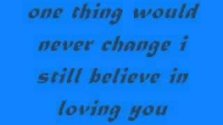 i still believe in loving you ( lyrics ) - sarah geronimo