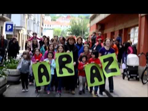 Udalerri  Euskaldunen  Eguna  iragartzeko  bideoa  egin  dute  zarauztarrek