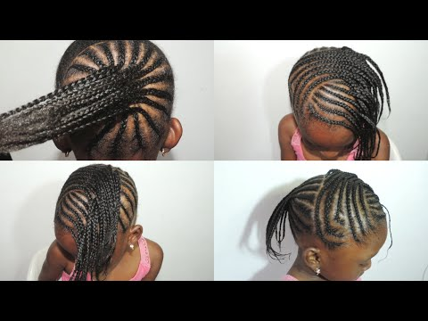 KIDS SUMMER HAIRSTYLE  .