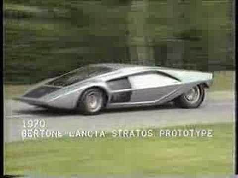 Collection - Bertone Prototype Cars (60s-80s)
