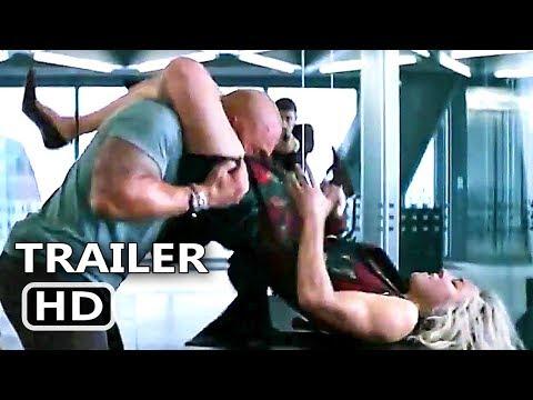 Hobbs & Shaw's Sister Fight Trailer (NEW, 2019) Dwayne Johnson Movie HD