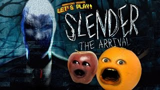 Annoying Orange and Midget Apple Play - SLENDER: THE ARRIVAL