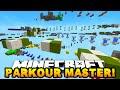 Minecraft PARKOUR MASTERS! - w/PrestonPlayz & MrWoofless!