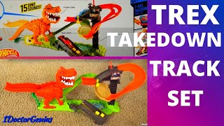 1DoctorGenius Hotwheels T-REX TAKEDOWN Track Set!! A great play set game for kids. Please Subscribe for more videos: ...