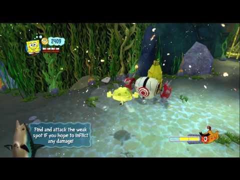 SpongeBob's Truth or Square - Xbox 360