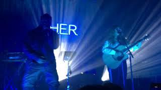Video H.E.R. - Best Part live in Toronto MP3, 3GP, MP4, WEBM, AVI, FLV Agustus 2018