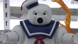 Hi! More Stay Puft Marshmallow Man footage! This time he had a different facial expression! LOL I guess depending on the angle...