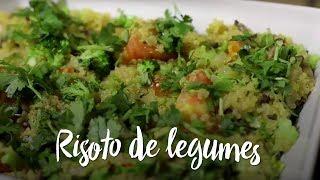 Experimente - Risoto de legumes