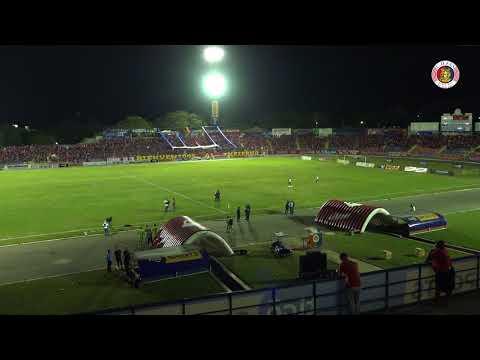 FAS vs Alianza - timelapse - Semifinales Apertura 2017 - Partido de ida - Turba Roja - Deportivo FAS
