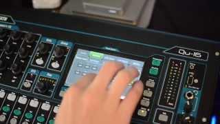 Allen & Heath Qu Series Control Surface Tutorial