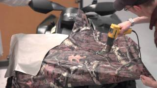 10. Mossy Oak Graphics ATV Camo Kit Installation Instructions