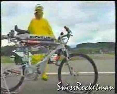 噴射腳踏車,時速236公里!