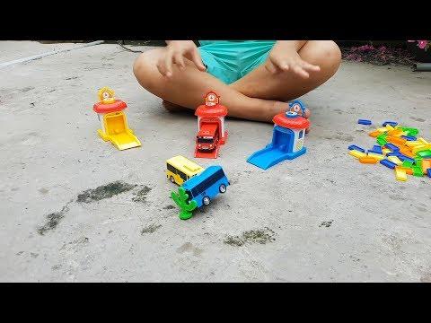 Trò Chơi Bé Pin Xe Bus Nhỏ ❤ ChiChi ToysReview TV ❤ Đồ Chơi Trẻ Em Baby Doli Fun Song