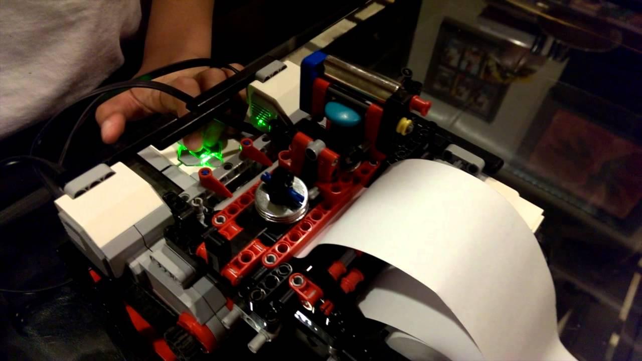 BRAIGO - a bit more close up (The Print Head) - print speed 5-7 secs/letter