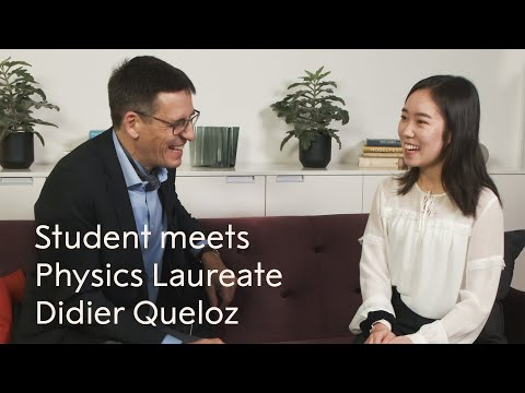 """Didier Queloz: """"There is no age for being clever!"""" - Nobel Prize in Physics 2019"""