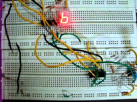 0 - 9 counter using IC 7493