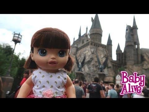 BABY ALIVE ALICE FOI NO CASTELO DO HARRY POTTER NA UNIVERSAL