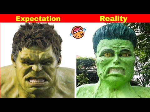 Funny photos - Expectation Vs Reality Funny Pictures Compilation