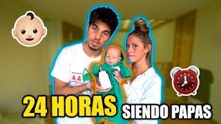 Video 24 HORAS SIENDO PAPAS (no pudimos dormir) MP3, 3GP, MP4, WEBM, AVI, FLV Juni 2018