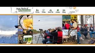 Arkansas State Parks Website Radio 2016