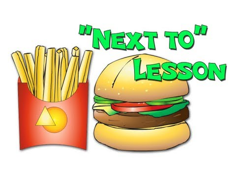 next to preposition lesson
