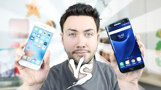 Video iPhone 6S VS Samsung Galaxy S7 / Edge : Le Gros Comparatif ! MP3, 3GP, MP4, WEBM, AVI, FLV Agustus 2017