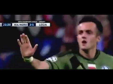 Real Madrid vs Legia 5 1 All Goals. UCL 2016