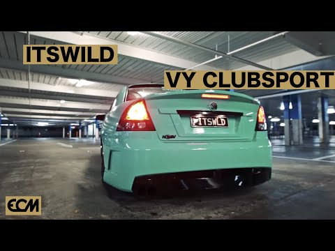 ITSWLD EYE CANDY MOTORSPORTS VY CLUBSPORT BUILD