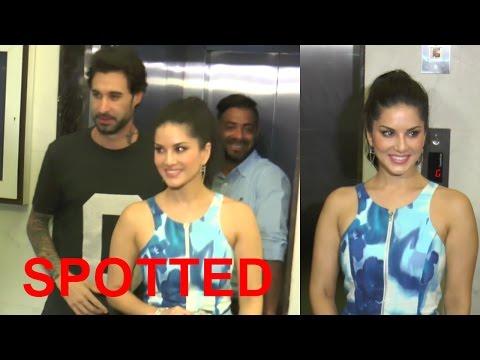 Sunny Leone & Daniel Weber Spotted At Bandra