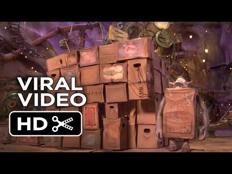 The Boxtrolls VIRAL VIDEO - Sleeping (2014) - Stop-Motion Animated Movie HD