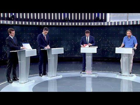 Ισπανία: Χωρίς νικητή το πρώτο debate των αρχηγών