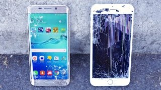 NEW Samsung Galaxy S6 Edge PLUS Drop Test VS iPhone 6 Plus Drop Test. Just How Durable Is The New S6 Edge + Compared To iPhone 6 Plus? Bonus Burial Included....
