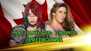 WWE NXT TakeOver: Toronto NXT Women's Championship Asuka vs. Mickie James Predictions WWE2K17 WWE NXT TakeOver: Toronto NXT Women's Championship Asuka vs. Mi...