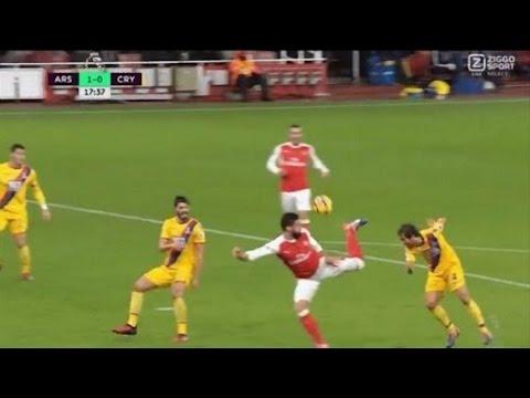 Olivier Giroud Scorpion Kick Goal vs Crystal Palace (Giroud Goal vs Palace)