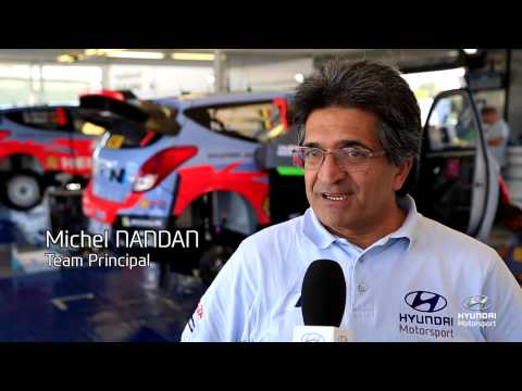 Vídeo shakedown Rallye España Spain Cataluña 2014 by Hyundai Motorsport