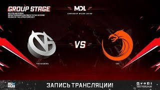 Vici Gaming vs TNC, MDL Changsha Major, game 1 [4ce]
