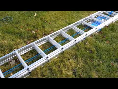 Werner 32 Foot Aluminum Extension Ladder VIDEO REVIEW